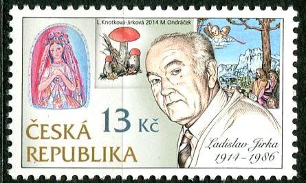 (2014) č. 795 ** - ČR - Tradice české známkové tvorby