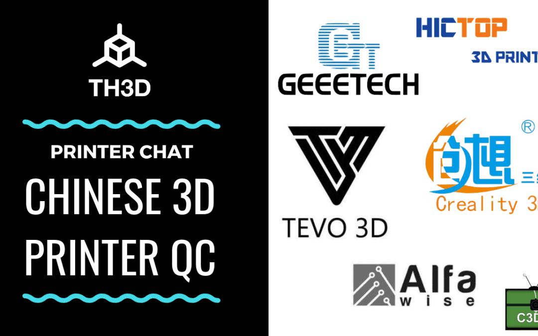 Live Stream Tonight! 9PM CST – Chinese 3D Printer QC