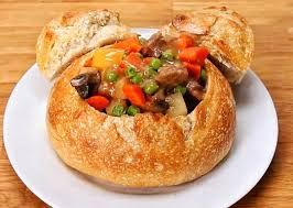 Disneyland's Slow CookBeef Stew Bread Bowl Recreated
