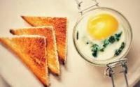 Potatoes And Coddled Egg Mason Jar Breakfast