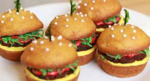 How to make cheeseburger cupcakes
