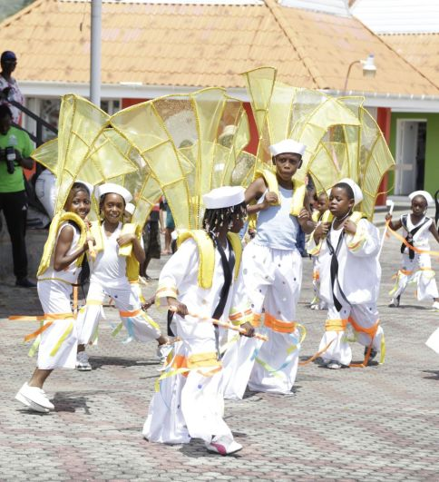 Mas Nurturers danced as sailors throughout the streets of Scarborough as 'Fancy Sailors'.