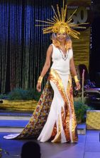 Winner of the Windward Afro Queen Show, Karisse Murray, dazzled the judges and was declared the night's winner. Murray represented Speyside.