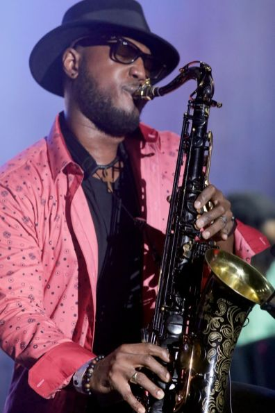 Barbadian-born saxophonist Elan Trotman.