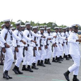 Members of the Trinidad and Tobago Coast Guard are all precision.
