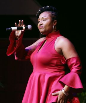 "Lynette Louis performs ""Have Yourself A Merry Little Christmas""."