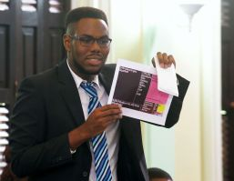Jeremy Chapman who represented the seat of Chief Secretary Kelvin Charles.