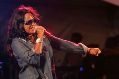 Tanya Stephens did not disappoint her fans with a thrilling performance.