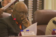 THA Chief Secretary reads the fiscal 2019 budget statement.