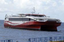 The Galleons Passage, a passenger/cargo ferry.