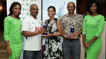 Chief Secretary golf prize distribution