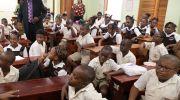 Education Secretary Visits Two Schools