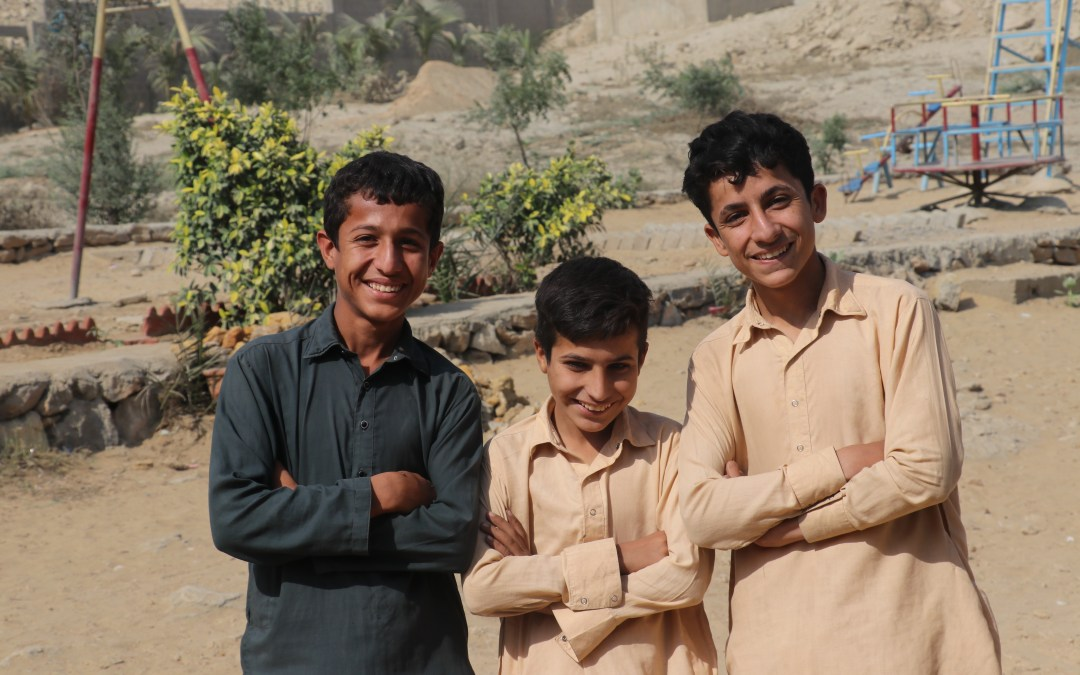 Our dedicated students in Pakistan