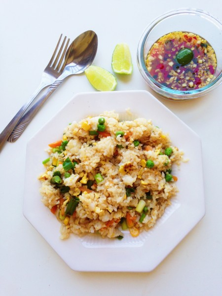 Thai stir fried rice recipe khaw pad gai thai foodie thai stir fried rice recipe khaw pad gai love forumfinder