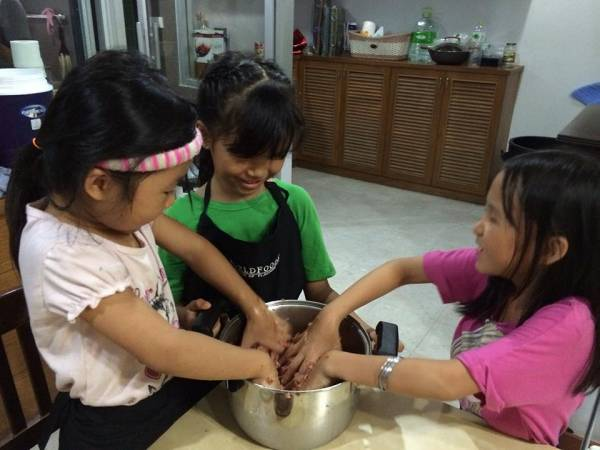 Thai Basil Meatballs with Thai Pesto Recipe