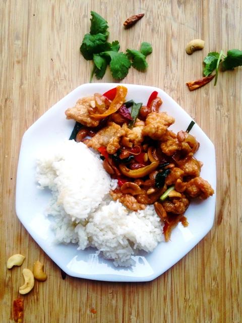 Thai Cashew Fried Chicken Recipe |ไก่ผัดเม็ดมะม่วงหิมพานต์