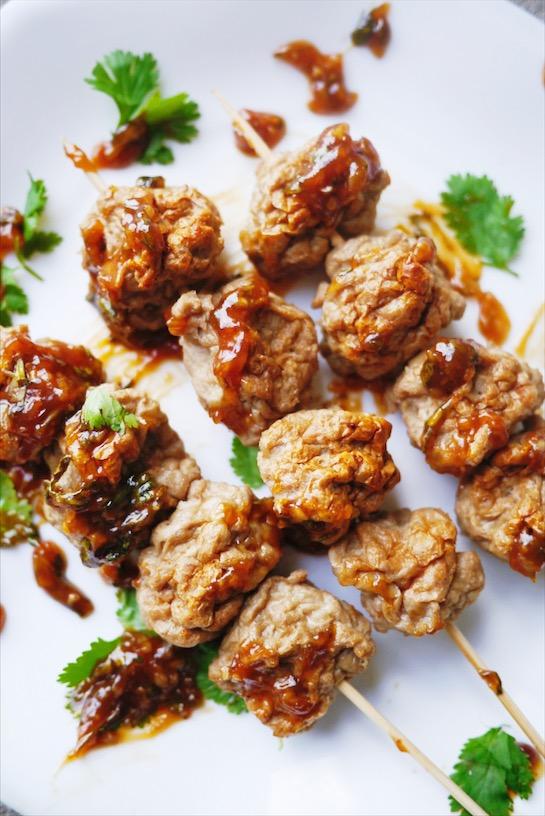 Thai Meatball Recipe | Look Chin