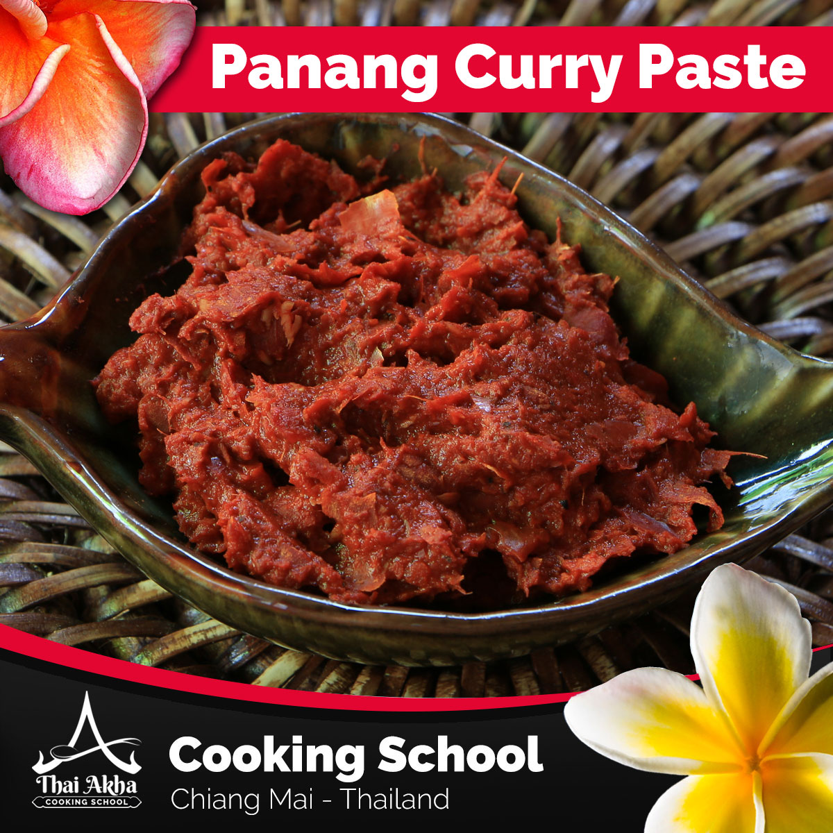 Panang Curry Paste - Akha Kitchen - Akha Recipes - Thai Akha Kitchen