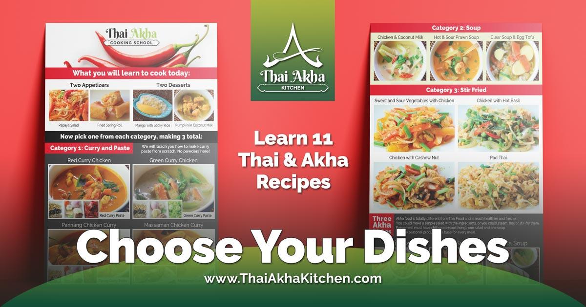 Online Cooking Class - Thai Akha Kitchen - Akha Recipes - Akha Kitchen