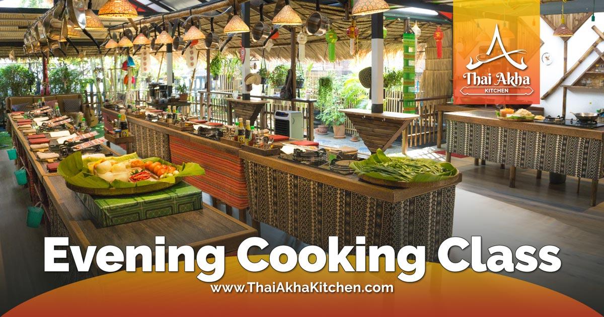 Evening Cooking Class - Thai Akha Kitchen - Akha Recipes - Akha Kitchen