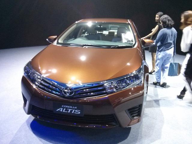 Toyota corolla2014
