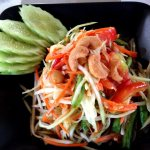 Thai Cooking Recipe Papaya Salad, Course March