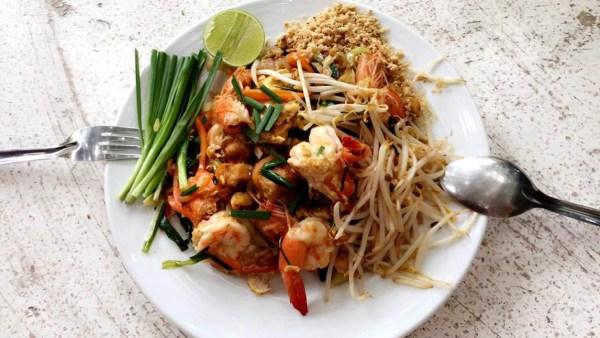 Cooking Class Phad Thai Goong