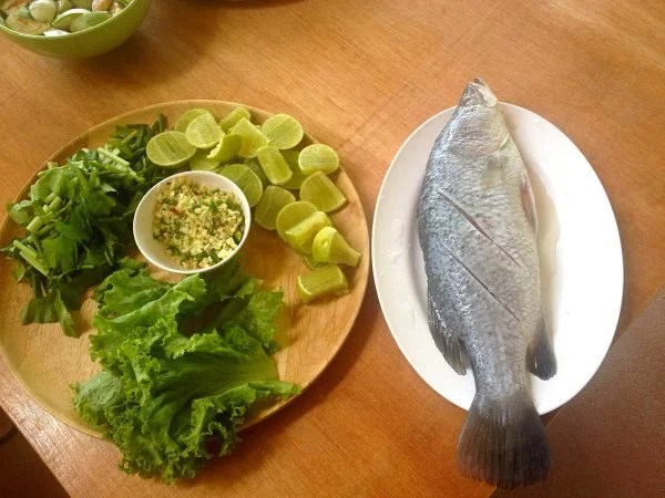 Cooking Course Steamed Snapper With Lime