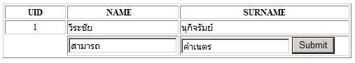 PHP MySQL (Thai)