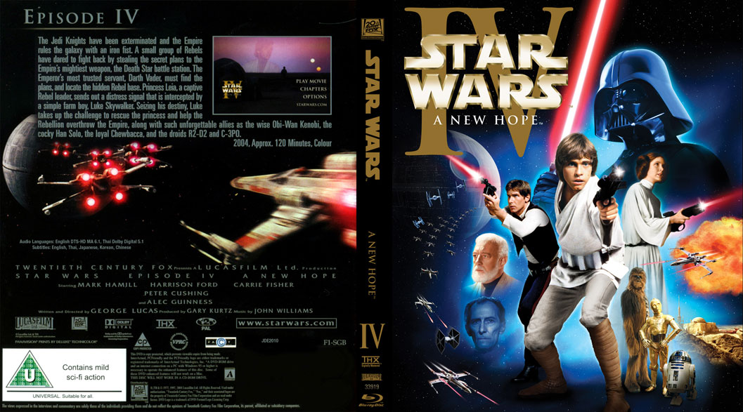 1514 Star Wars Episode Iv A New Hope 1977 Alex S 10 Word Movie Reviews