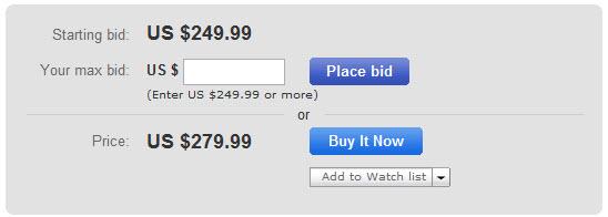 Buy It Now or Place Bid