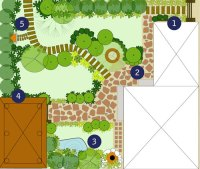 Tropical Urban Thai Garden Plan - Thai Garden Design