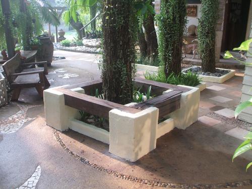 Thai Garden Tree Seating Thai Garden Design