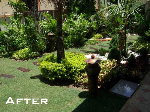 New Landscaping Overhaul For Pattaya Garden Thai Garden Design