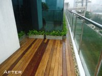 Balcony Deck & Garden in Bangkok - Thai Garden Design