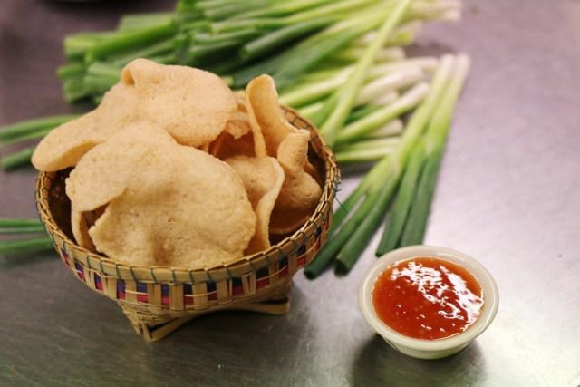 Thai prawn crackers