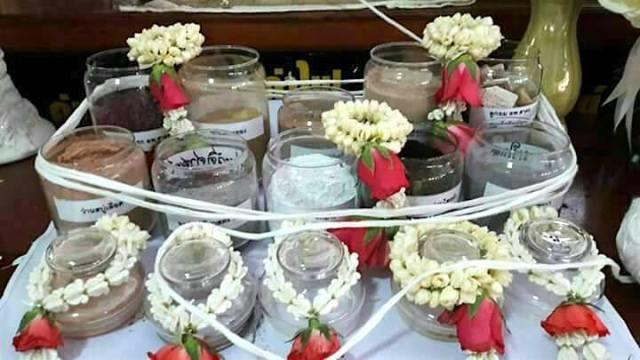 Muan Sarn Sacred Powders used in the making of Khun Phaen Prai Maha Sethee Amulets