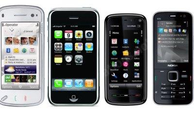 3G mobiles iphone smartphones