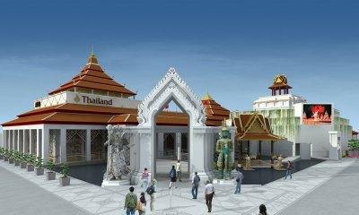 The Thai pavilion at the Shanghai expo2010
