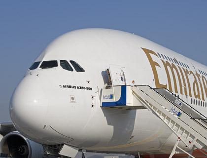 emirates A380 airbus