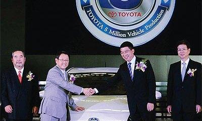toyota thailand 5 million