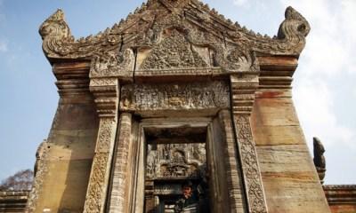 Cambodia Thailand temple