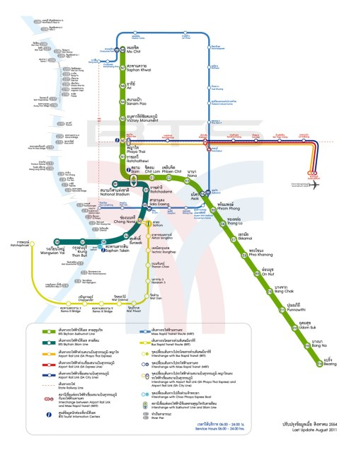 BTS Map Bangkok