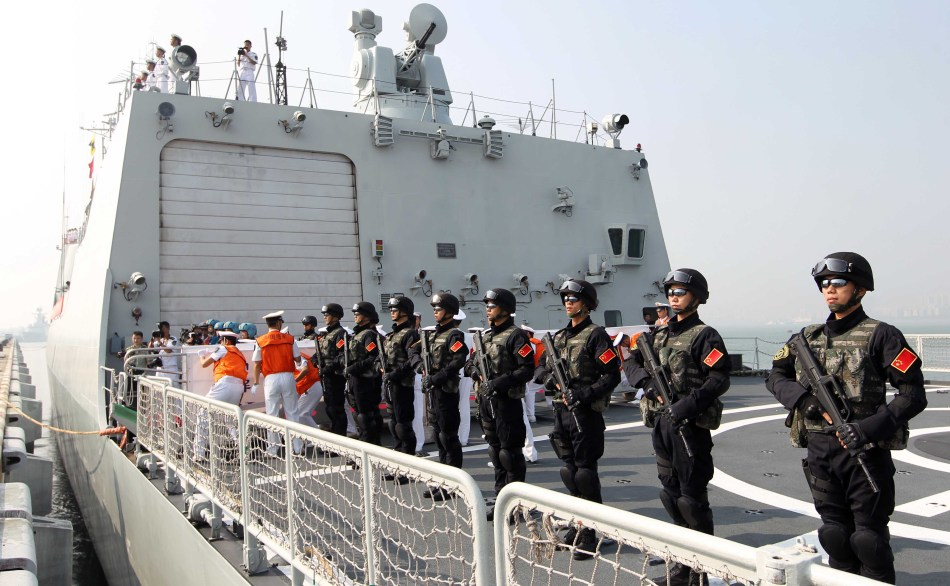 Chinese security and freedom of navigation in the South China Sea