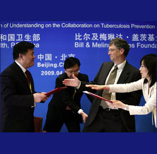 US foundations tend to award large grants to established organizations either controlled by the Chinese government or under its influence