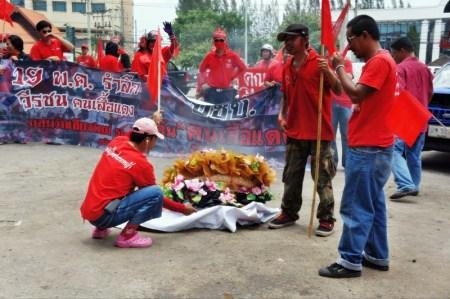 red shirts Chiang Mai 2012