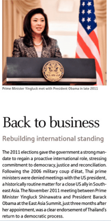 The report: Thailand 2012