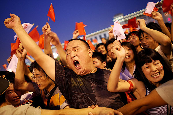 By 2030, more than 1 billion people in China will be classed as middle-class