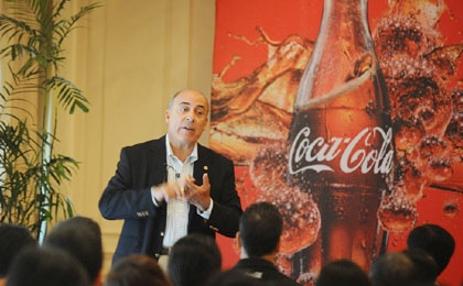 Muhtar Kent is Chairman of the Board and Chief Executive Officer of The Coca-Cola Company