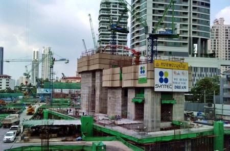 Bangkok construction site